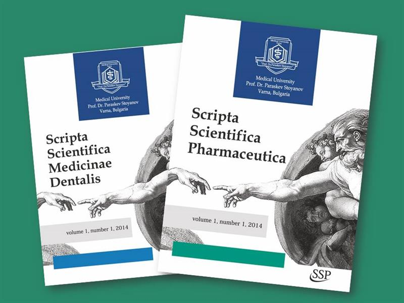 The New Scientific Journals of the Medical University of Varna Are Now Being Published Via a New E-Platform
