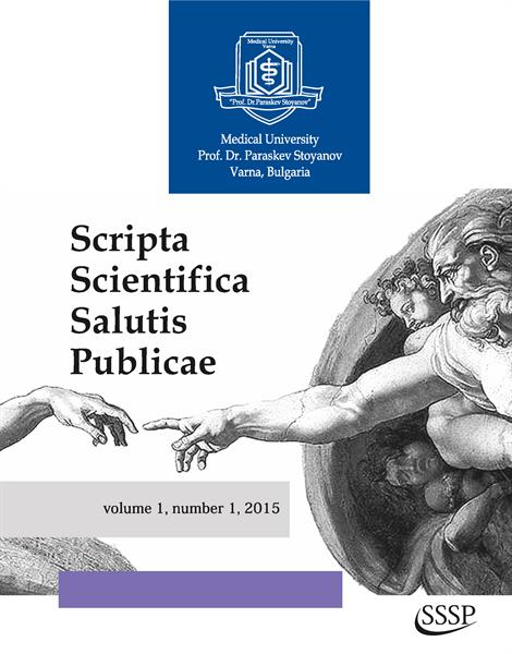 Scripta Scientifica Salutis Publicae, Issue 1, Vol. 1., the Newest Scientific Journal of the Medical University of Varna Has Been Published. It is in English and is Accessible Online
