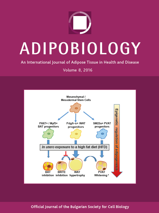 "The Official Journal of the Bulgarian Society for Cell Biology ""Adipobiology"" Is Available Online as of Today"